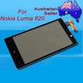 Nokia Lumia 820 LCD and touch screen assembly with frame [Black]